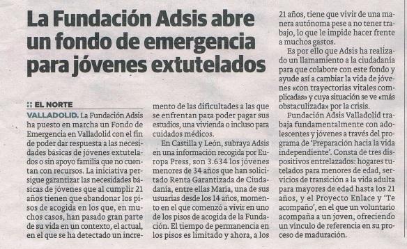 Nuevo impulso para difundir el Fondo de Emergencia creado por Fundación Adsis