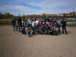 Foto grupal de parte de los asistentes