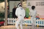 Detalle de los deportistas el sábado en Equinoccio
