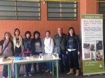 Educadores de los rogramas de Preparación a la Vida Adulta junto con integrantes de la AMPA Pablo Picasso